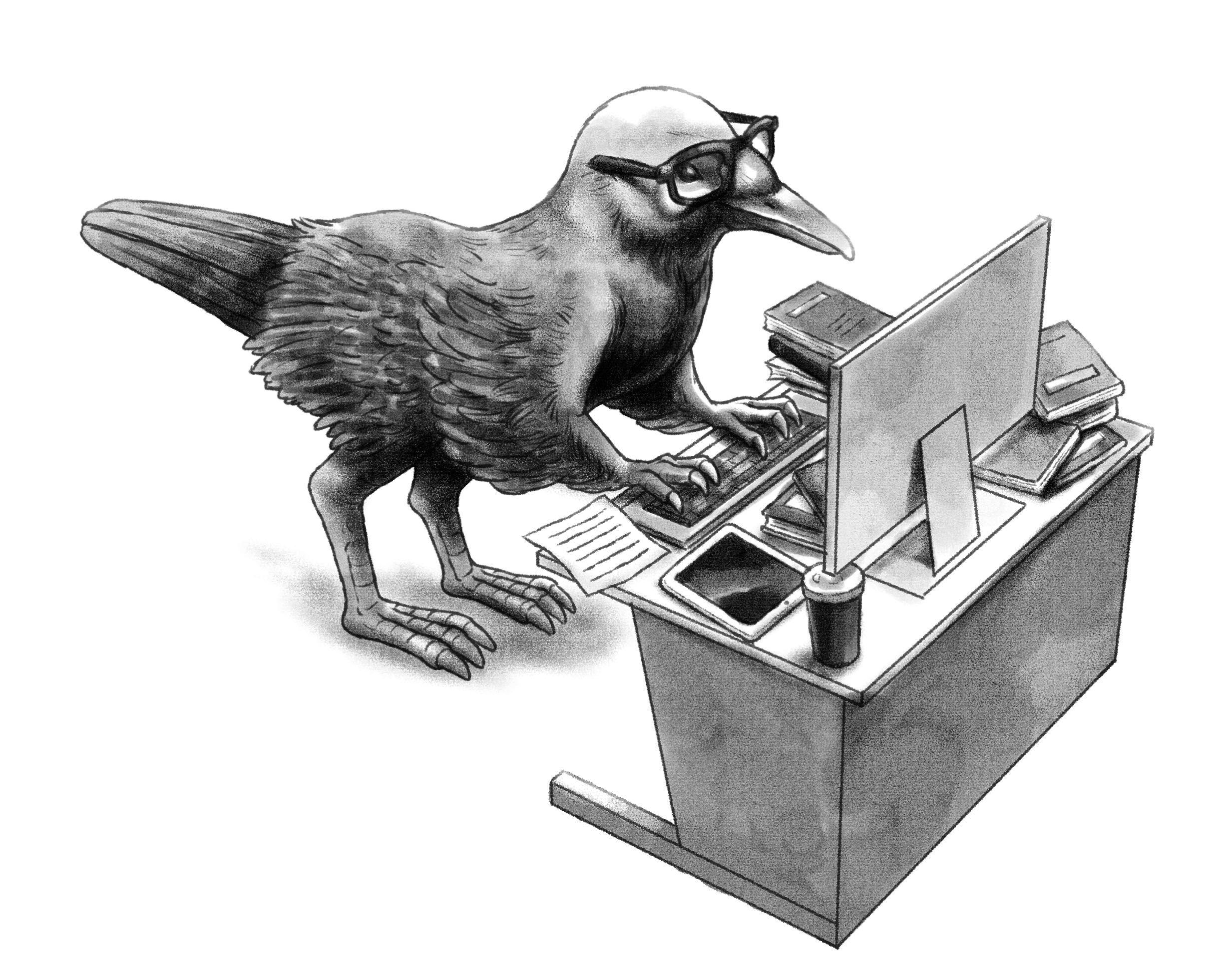 """これが""""新しい""""恐竜人間!? もしも恐竜が絶滅しなかったらの進化論"""